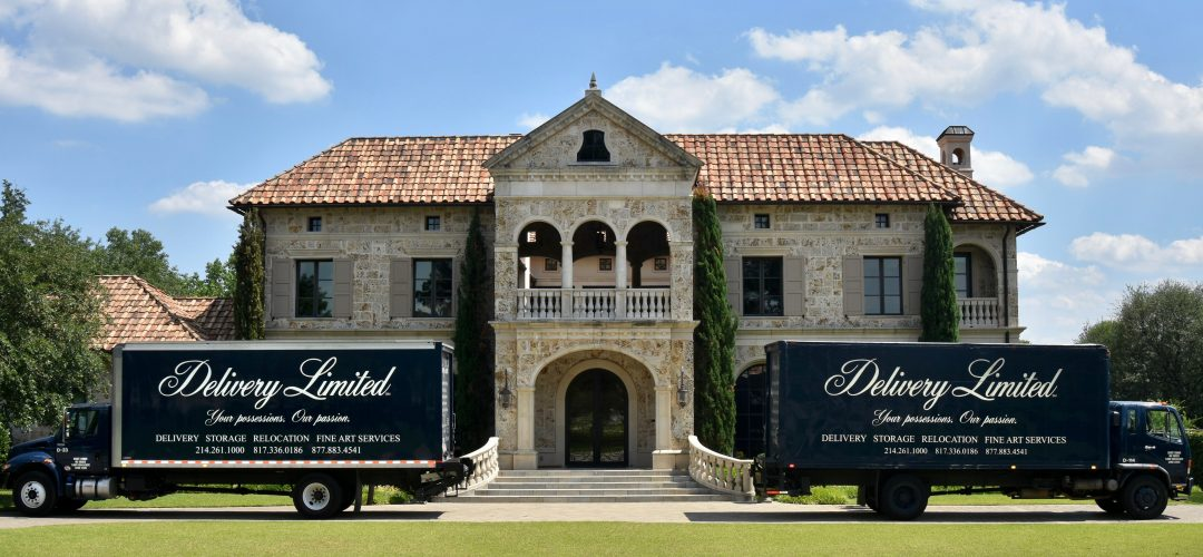 Luxury White Glove Delivery, Relocation And Storage Company North TX:  Delivery Limited